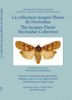 Catalogue of the Jacques Plante Noctuidae Collection (Noctuinae and Hadeninae)